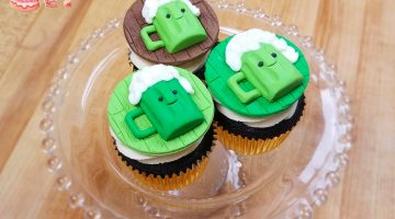 St  Pats Cupcake Toppers