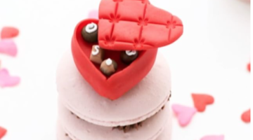 Valentines Day Fondant Toppers