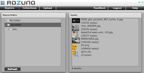 Picture: Razuna - Desktop