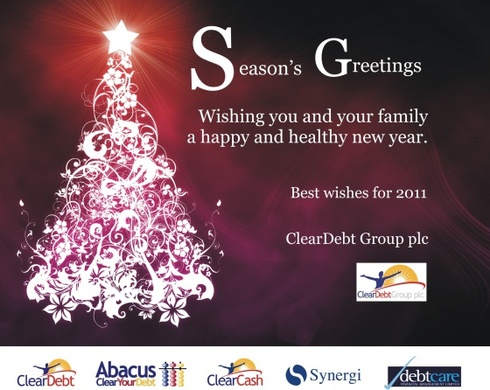 Seasons greeting from ClearDebt