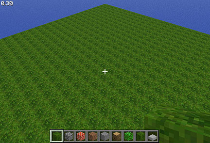 how to make grass grow in minecraft