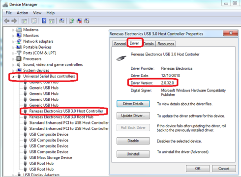 Renesas Usb 3.0 Extensible Host Controller Driver Download