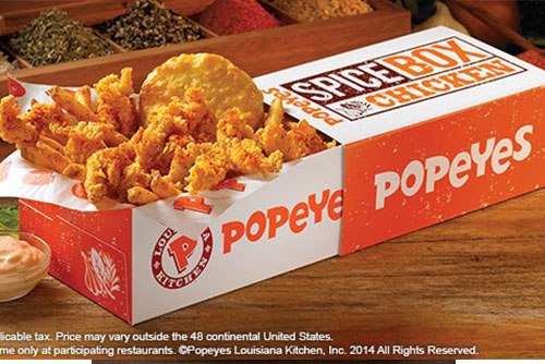 List of Popeyes Wednesday sale events, promotions, price list and other happenings in Singapore. Last updated December Popeyes P7W5D Past Event Enjoy awesome deals at Popeyes .
