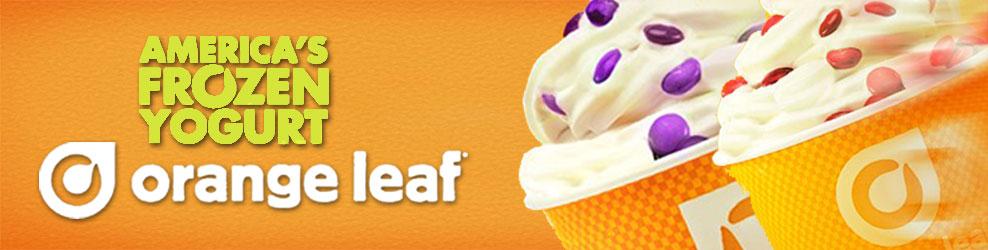 Coupons for orange leaf frozen yogurt