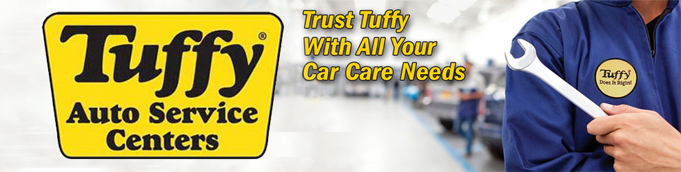 Tuffy automobile guaranteed parts are available with around 30, automobile repairing shops across America. If you have a certain emergency, Tuffy ensures you get perfect service and takes your call on urgent basis to fix an appointment. When you make a purchase from the Tuffy® Tire & Auto Service Center you get a 12 month free roadside.