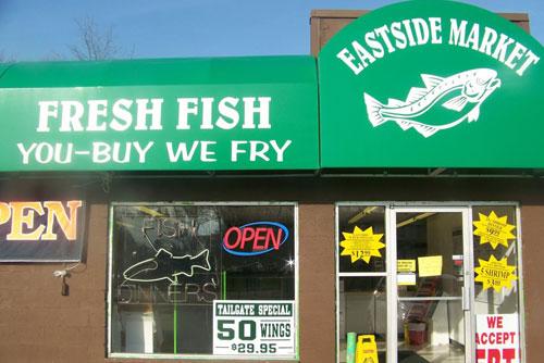 Eastside fish fry grill in lansing mi coupons to for Fresh fish lansing mi