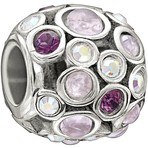 Chamilia Captivate Bead- Purple Swarovski