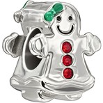 Chamilia Gingerbread Girl Bead
