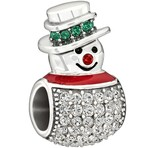 Chamilia Limited Edition 2013 Snowman Bead