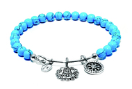 Chrysalis Guardian Turquoise Mother Doll Expandable Charm Bangle