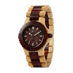WeWOOD Date Watch - Beige/Brown