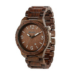WeWOOD Alpha Watch- Chocolate