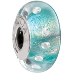 Chamilia Radiance Collection Teal Shimmer Bead