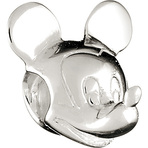 Chamilia Disney Mickey Mouse Head Bead