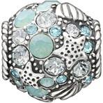 Chamilia Buried Treasure Blue Swarovski Bead