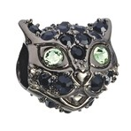 Chamilia  2014 Ltd Ed Halloween Cat Eyes Bead
