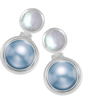 Kameleon Mother Of Pearl Post Earrings