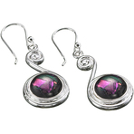 Kameleon Top Scroll Earrings