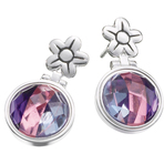 Kameleon Flower Hinged Post Earrings