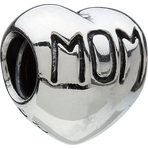 Chamilia Mom Heart Bead