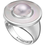 Kameleon White Mother of Pearl Ring
