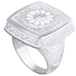 Kameleon Arabesque Square Ring