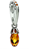 Chamilia Briolette Umber Swarovski Bead - Siena Collection