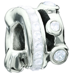 Miss Chamilia Cartwheel - White CZ Bead