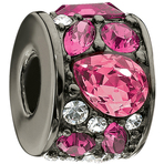 Chamilia Mosaic Fuchsia Swarovski Bead - Cabaret Collection