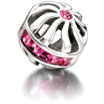 Chamilia Blaze Fuchsia Swarovski Bead - Cabaret Collection