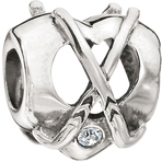 Chamilia Center Pass Clear Swarovski Bead