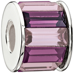 Chamilia Baguette Purple Bead - Swarovski Collection
