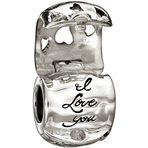 Chamilia I Love You Treasure Bead - Holiday Collection