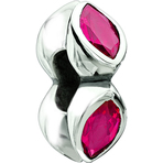 Chamilia Midtown Marquis Fuchsia CZ Bead - Soho Collection