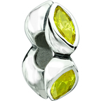 Chamilia Midtown Marquis Yellow CZ Bead - Soho Collection