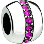 Chamilia Cosmo Fuchsia Swarovski Bead - Soho Collection