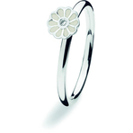 Spinning Jewelry White Mini Blossom Ring
