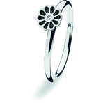 Spinning Jewelry Black Mini Blossom Ring