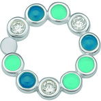 Spinning Jewelry Happy Pool Blue Link