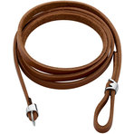 Spinning Jewelry Brown Leather Extension