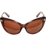 Kameleon Brown Cat's Eye Sunglasses