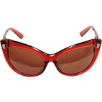 Kameleon Red Cat's Eye Sunglasses