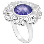 Kameleon Swish and Swirl Ring