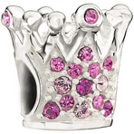 Chamilia Crystal Crown Pink