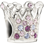 Chamilia Crystal Crown Purple