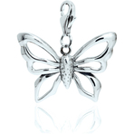 Chrysalis Large Butterfly Charm
