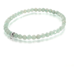 Chrysalis Calm Cut Amazonite Stretch Charm Bracelet