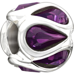 Chamilia Embrace Purple Swarovski