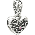 Chamilia In My Heart Locket Pink Swarovski Bead