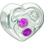 Chamilia Limited Edition 2013 Blooming Love Valentine Bead